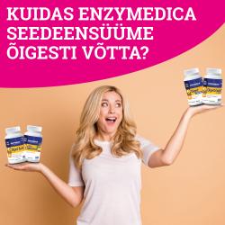 """Enzymedica seedeensüümide """"kasutusjuhend"""""""