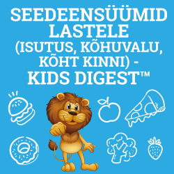Seedeensüümid lastele (isutus, kõhuvalu, kõht kinni) - Kids Digest™
