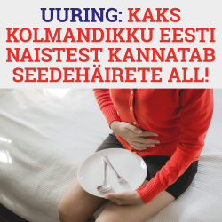 Uuring: kaks kolmandikku Eesti naistest kannatab seedehäirete all