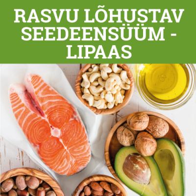 Rasvu lõhustav seedeensüüm - lipaas