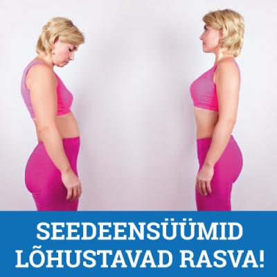 Seedeensüümid lõhustavad rasva!