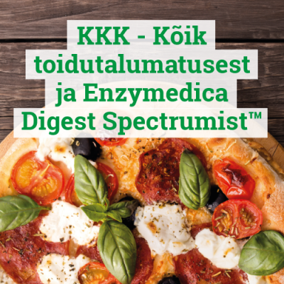 KKK - Kõik toidutalumatusest ja Enzymedica Digest Spectrumist™