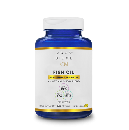 Oomega-3-kalaõli Aqua Biome Maximum Strength 120
