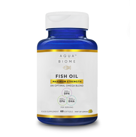 Oomega-3-kalaõli Aqua Biome Maximum Strength 60