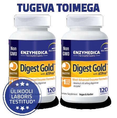 Digest Gold 2-ne komplekt (120 kapslit x 2tk)