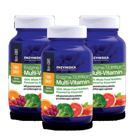 Enzyme Nutrition Multi-Vitamin 3-ne komplekt (60 kapslit x 3tk)