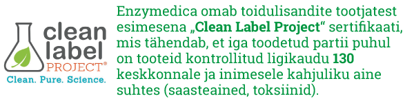 ENzymedica Clean Label Project